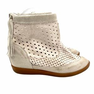 Isabel Marant Beasley Off-White Suede Boot…